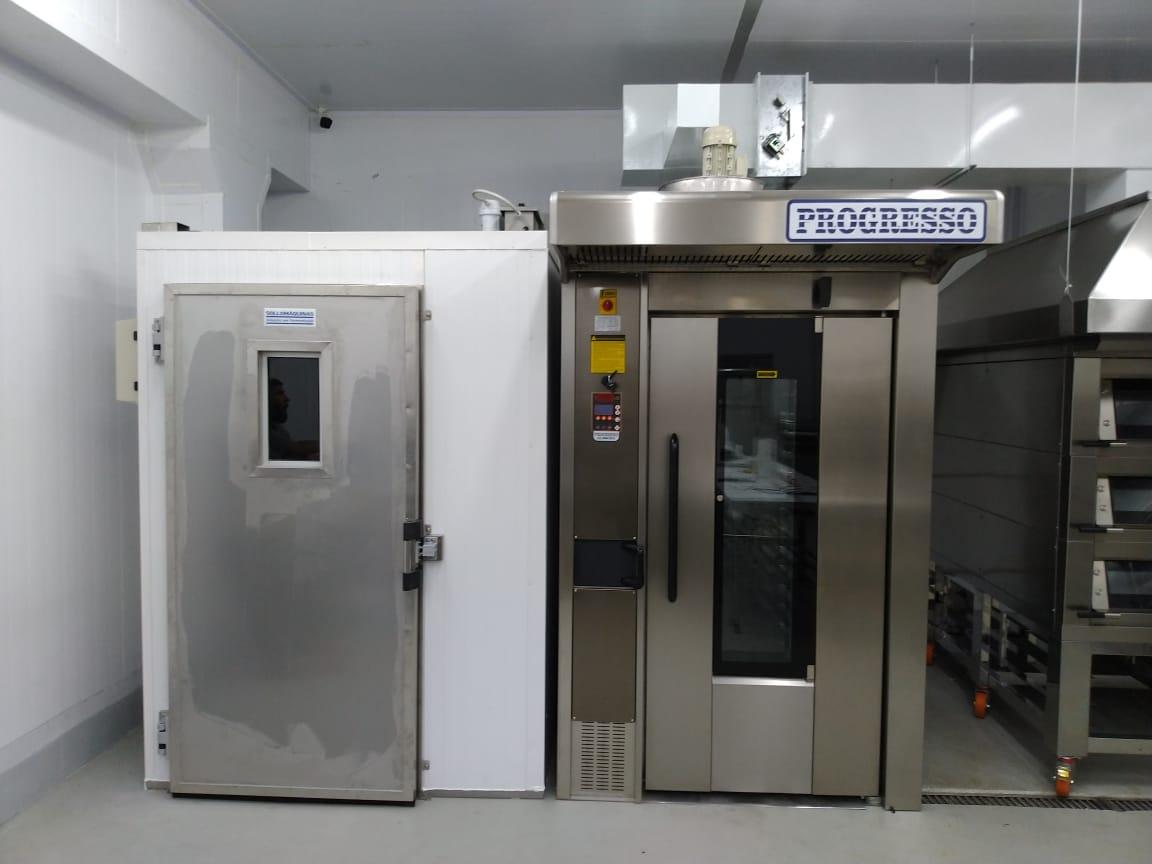 máquina de pão industrial